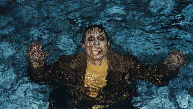 zombie in water