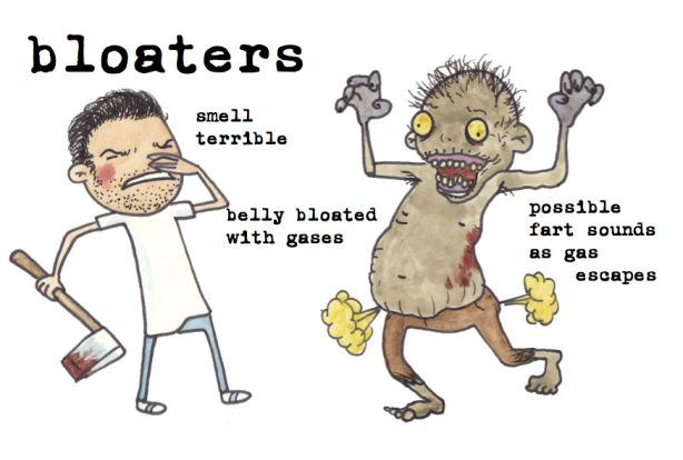 bloaters zombies