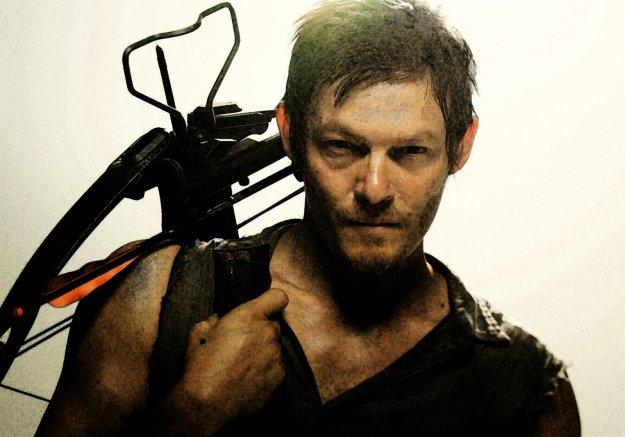 Daryl Dixon The walking dead zombie enforcer