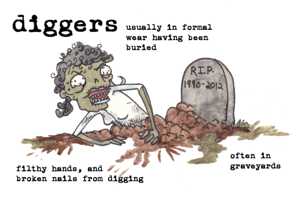diggers zombies