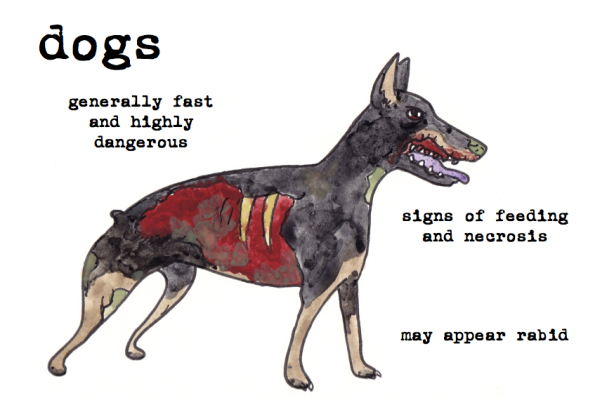 dogs zombies