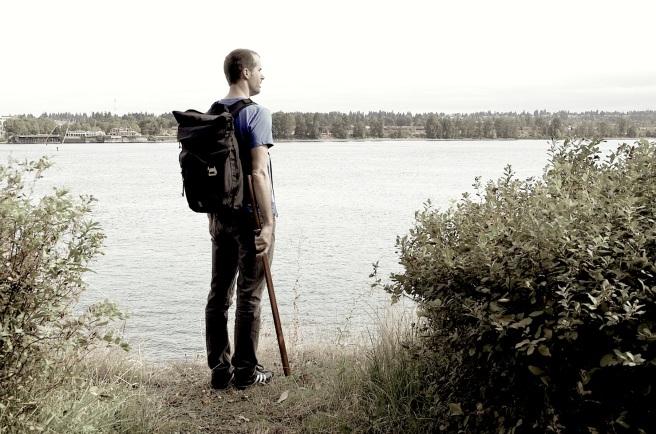 Andrew, Survivor near water