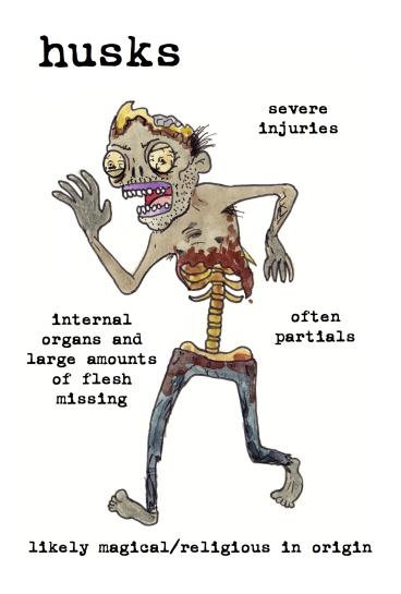 husks zombies