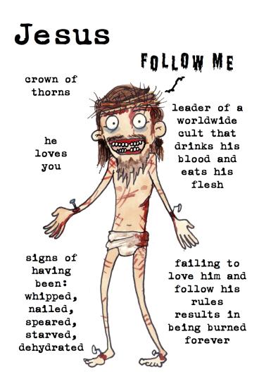 jesus zombies