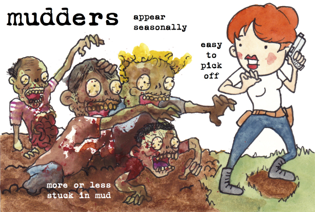 mudders zombies