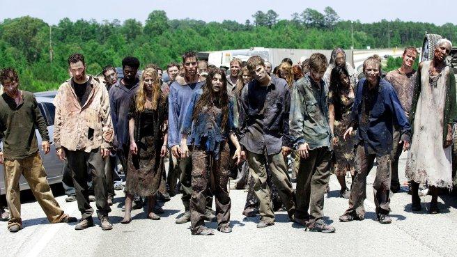 Zombie Horde The Walking Dead