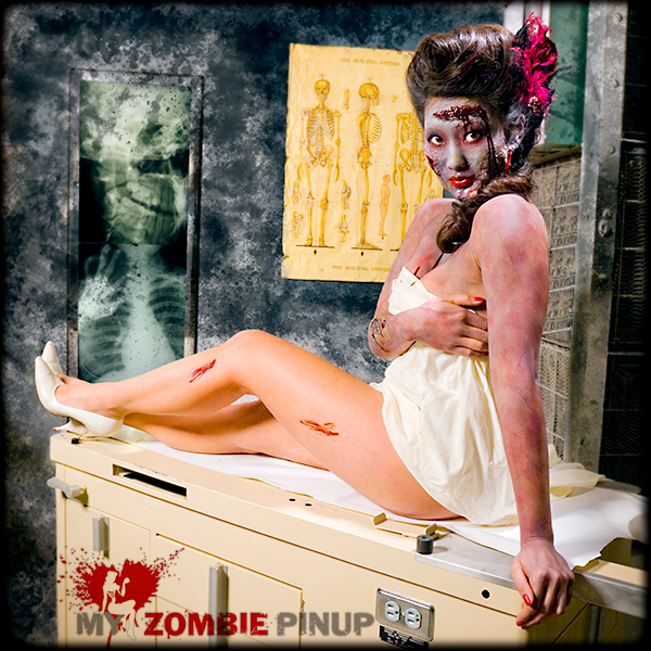 Zombie pin up calender march